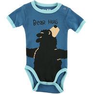 Lazy One Infant Boy's Bear Hug Creeper