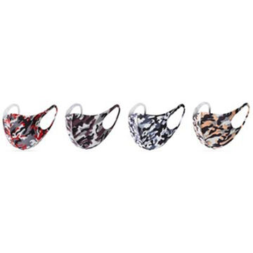 Wilcor Mens & Womens Polyester Camo Mix Face Mask