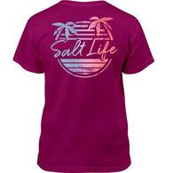 Salt Life Girl's Beach Front Short-Sleeve T-Shirt