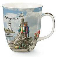 Cape Shore Maine Dockside Harbor Mug