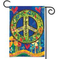BreezeArt Peace Garden Flag