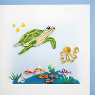 Quilling Card Turtle Everyday Card