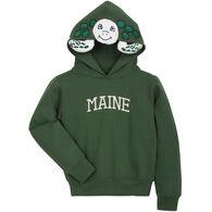 Wild Child Hoodies Boys' Green Turtle Sweatshirt