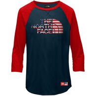 The North Face Girls' IC TriBlend 3/4-Sleeve T-Shirt