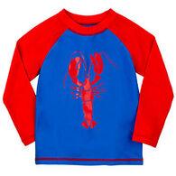 Hatley Boy's Lobster Long-Sleeve Rashguard