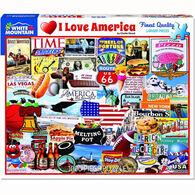 White Mountain Jigsaw Puzzle - I Love America