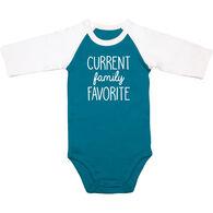 Pavilion Sidewalk Talk Infant Family Favorite Long-Sleeve Onsie