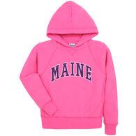 Lakeshirts Youth Blue 84 Maine Hooded Sweatshirt