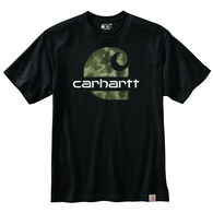 Carhartt Men's Loose Fit Camo C Graphic Short-Sleeve T-Shirt