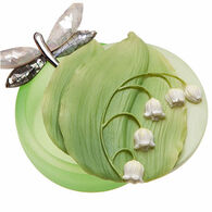 Ibis & Orchid Design Lily Of The Valley Keepsake Box