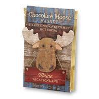 Imagine Design Maine Moose Magnet w/ Gourmet Hot Cocoa