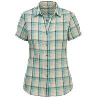 Woolrich Women's Carabelle Seersucker Short-Sleeve Shirt