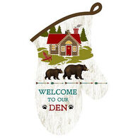 Kay Dee Designs Welcome To Our Den Oven Mitt