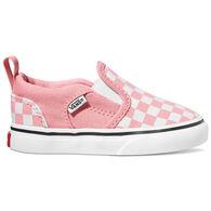 Vans Girls' Asher Checkerboard Slip-On Shoe