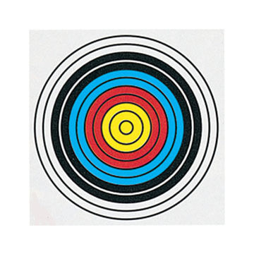 Delta Single Spot FITA Paper Target - 1 or 3 Pk.