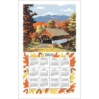 Kay Dee Designs 2018 Covered Bridge Calendar Towel