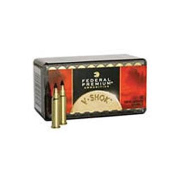 Federal Preminum V-Shok 22 Winchester Magnum 30 Grain Speer TNT HP Ammo (50)