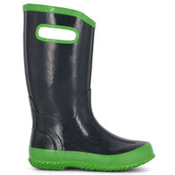 Bogs Boy's Navy Solid Rain Boot