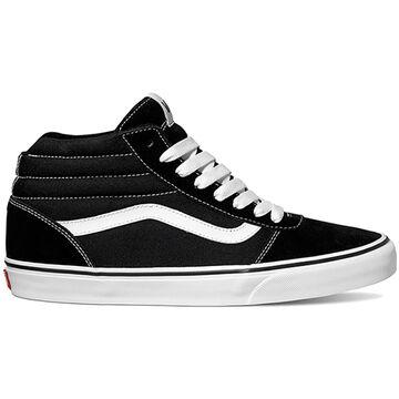 Vans Mens Ward Hi Suede Canvas Sneaker