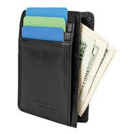 Travelon SafeID Leather Cash and Card Sleeve