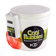 Marine Metal Cool Bubbles Insulated Aerated 8 Quart Bait Container