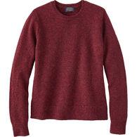 Pendleton Women's Shetland Washable Wool Crewneck Sweater