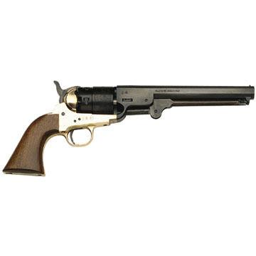 Traditions 1851 Navy Steel 44 Cal. Black Powder Revolver