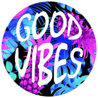 Sticker Cabana Good Vibes Sticker