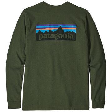 Patagonia Mens P-6 Logo Responsibili-Tee Long-Sleeve Shirt