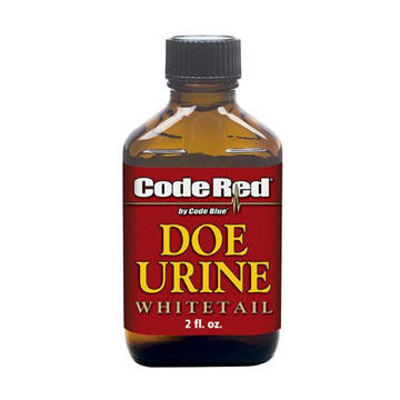 Code Blue Code Red Doe Urine Deer Attractant