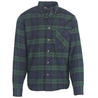 Woolrich Men's Tall Pine Flannel Long-Sleeve Shirt