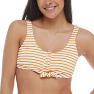 Body Glove Women's French Riviera Kate Crop Tank Bikini Swim Top