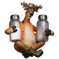Rivers Edge Deer Glass Salt and Pepper Shakers
