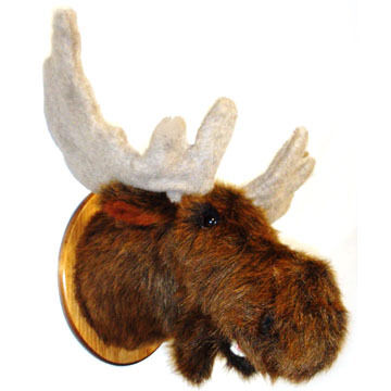 Fairgame Wildlife Trophies Leon Moose Plaque Mount