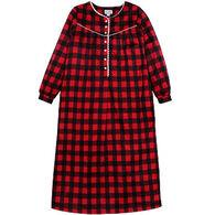 "Lanz Women's 46"" Fleece Nightgown"