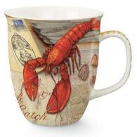 Cape Shore Maine Fresh Catch Lobster Harbor Mug
