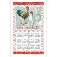 Kay Dee Designs 2022 Farm Nostalgia Calendar Towel
