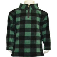 Trail Crest Infant Plaid Everyday Easy Quarter-Zip Long-Sleeve Pullover