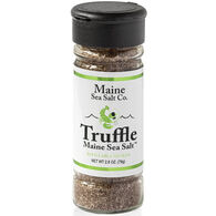 Maine Sea Salt Truffle Salt Refillable Shaker