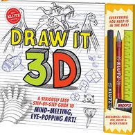 Klutz Draw It 3D Book Kit by Klutz