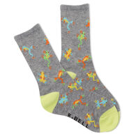K. Bell Youth Rainforest Frogs Crew Sock