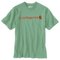 Carhartt Men's Big & Tall Logo Short-Sleeve T-Shirt