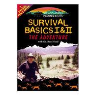 Stoney-Wolf Survival Basics I & II DVD
