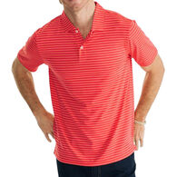 Southern Tide Men's First Mate Striped Performance Polo Short-Sleeve Shirt