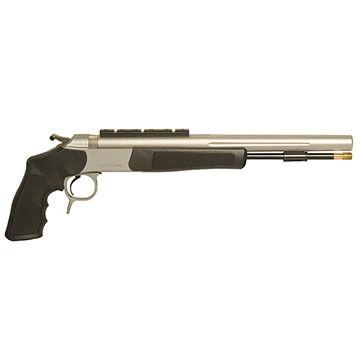 CVA Optima V2 50 Cal. Stainless Steel / Black Pistol w/ Rail Mount