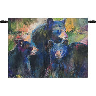 Manual Woodworkers & Weavers Bear Family Wall Hanging