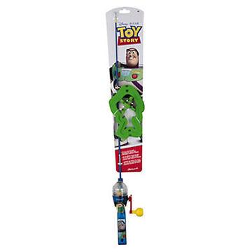 Shakespeare Children's Disney Toy Story Lighted Spincast Combo Kit