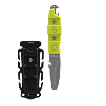 Gear Aid Akua Rescue & Dive Blunt Tip Fixed Blade Knife