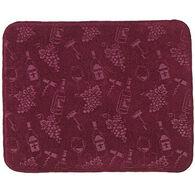 Kay Dee Designs Wine Embossed Drying Mat