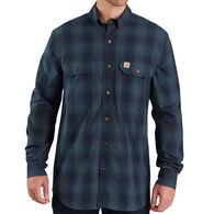 Carhartt Men's Big & Tall Fort Plaid Long-Sleeve Shirt
